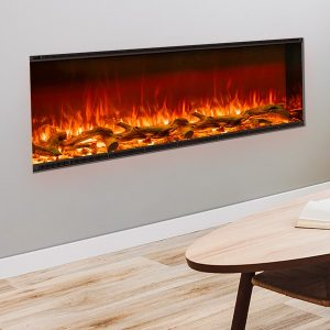 Electric fireplace - Planika Astro - Bespoke fire and flue